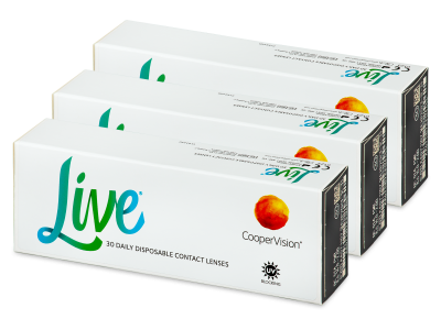 Live Daily Disposable (90 Lentillas)