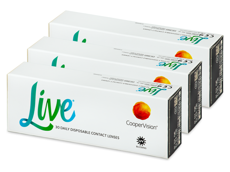 Live Daily Disposable (90 Lentillas) - Lentillas diarias desechables