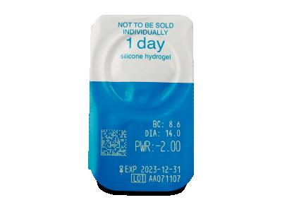 Live Daily Disposable (90 Lentillas) - Previsualización del blister