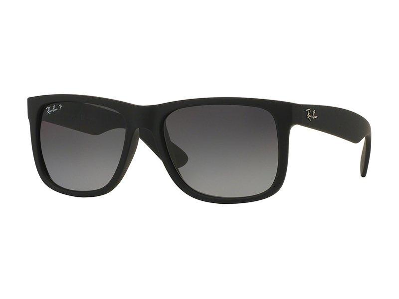 Gafas de sol Ray-Ban Justin con marcos negros | Lentes-de-contacto.es