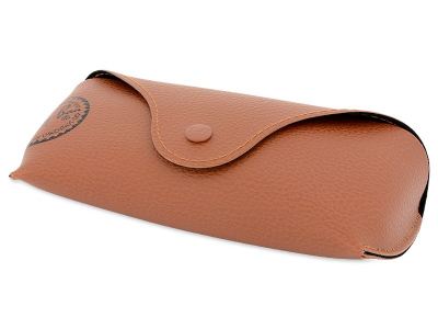 Gafas de sol Ray-Ban Justin RB4165 - 865/T5 POL  - Original leather case (illustration photo)