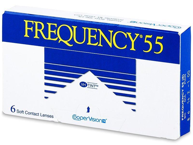 Lentes de contacto mensuales - Frequency 55 (6lentillas)