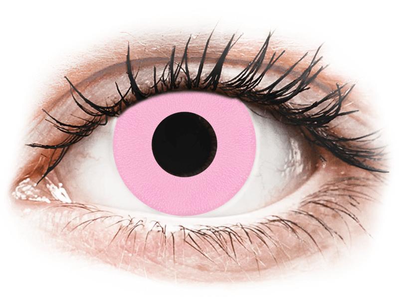 CRAZY LENS - Barbie Pink - Diarias sin graduación (2 Lentillas) - Lentillas de colores