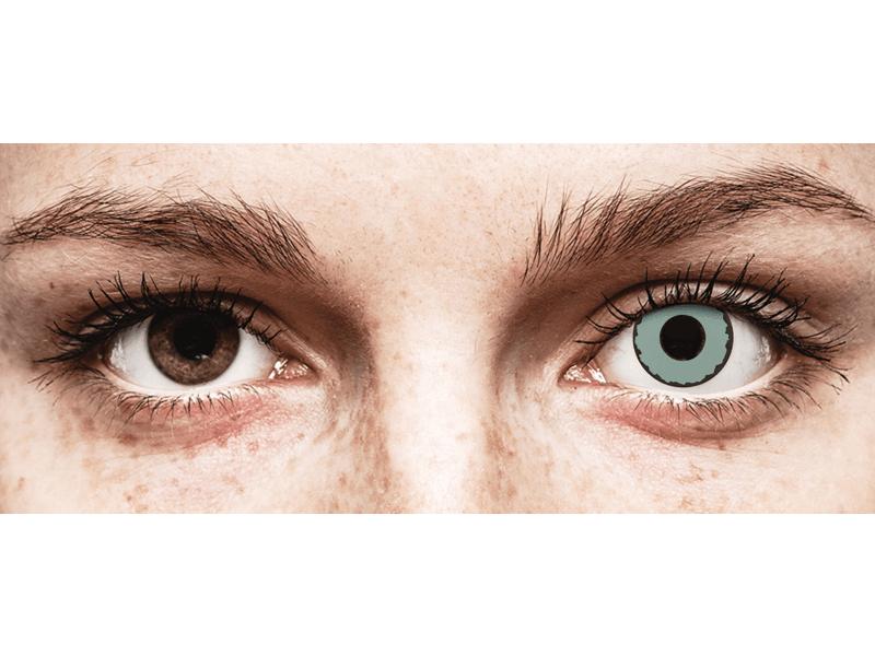 CRAZY LENS - Zombie Virus - Diarias sin graduación (2 Lentillas)