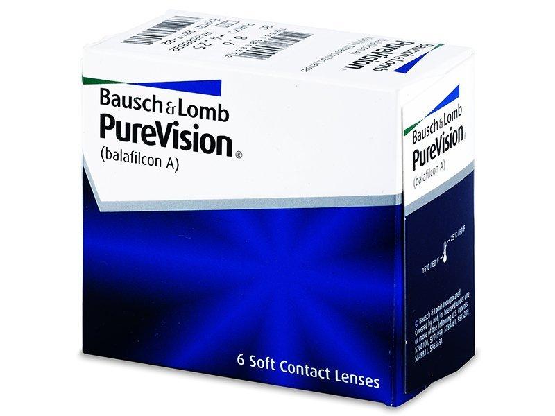 Lentes de contacto mensuales - PureVision (6lentillas)