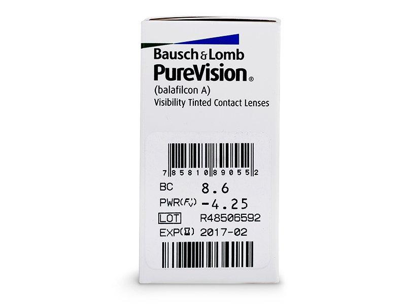 Previsualización de atributos - PureVision (6lentillas)