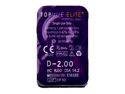 TopVue Elite+ (30 lentillas) - Previsualización del blister