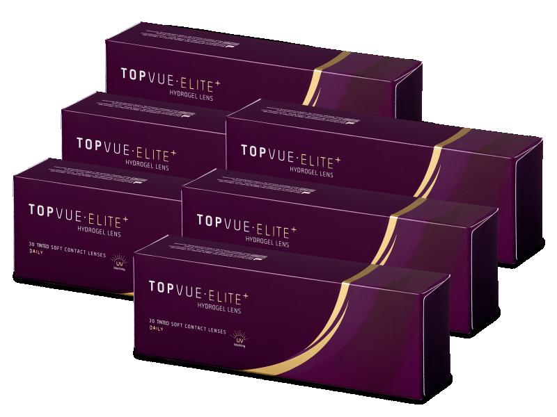 TopVue Elite+ (180 lentillas) - Lentillas diarias desechables