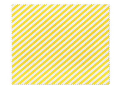 Paño de limpieza para gafas - rayas amarillas y blancas