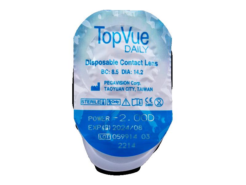 TopVue Daily (90lentillas) - Previsualización del blister