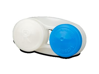 Estuche antibacteriales para lentillas - azul