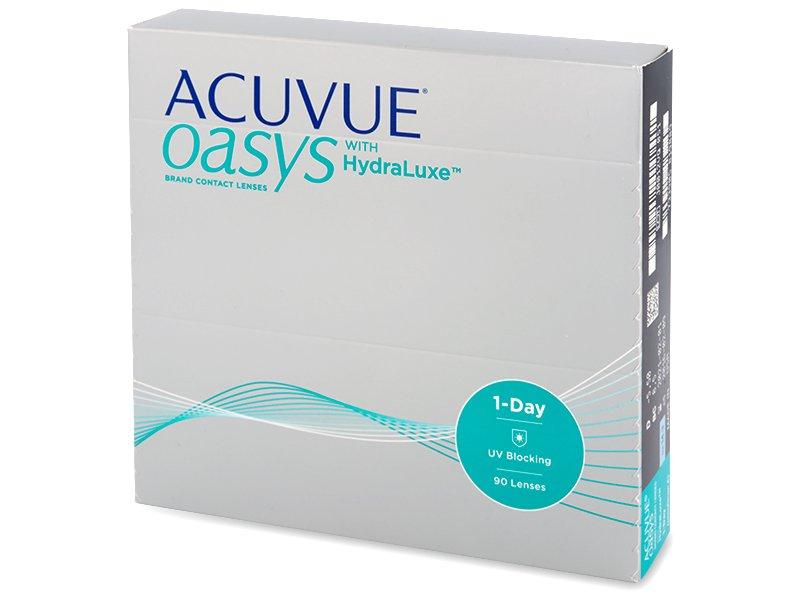 ef0db2f2f7 Acuvue Oasys 1-Day con Hydraluxe (90 lentillas) | Lentes-de-contacto.es