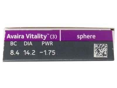 Avaira Vitality (3 lentillas) - Previsualización de atributos