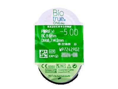 Biotrue ONEday (90lentillas) - Previsualización del blister