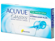 Lentillas Multifocales (Progresivas) - Acuvue Oasys for Presbyopia (6 lentillas)