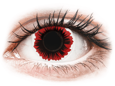 ColourVUE Crazy Lens - Blaze - Sin graduar (2 lentillas)