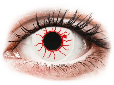CRAZY LENS - Red Viper - Diarias sin graduación (2 Lentillas)