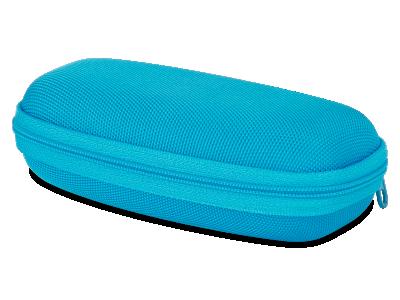 Estuche para gafas de niño con cremallera - azul