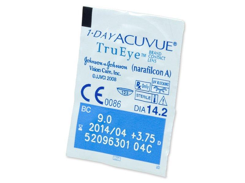 1 Day Acuvue TruEye (90lentillas) - Previsualización del blister