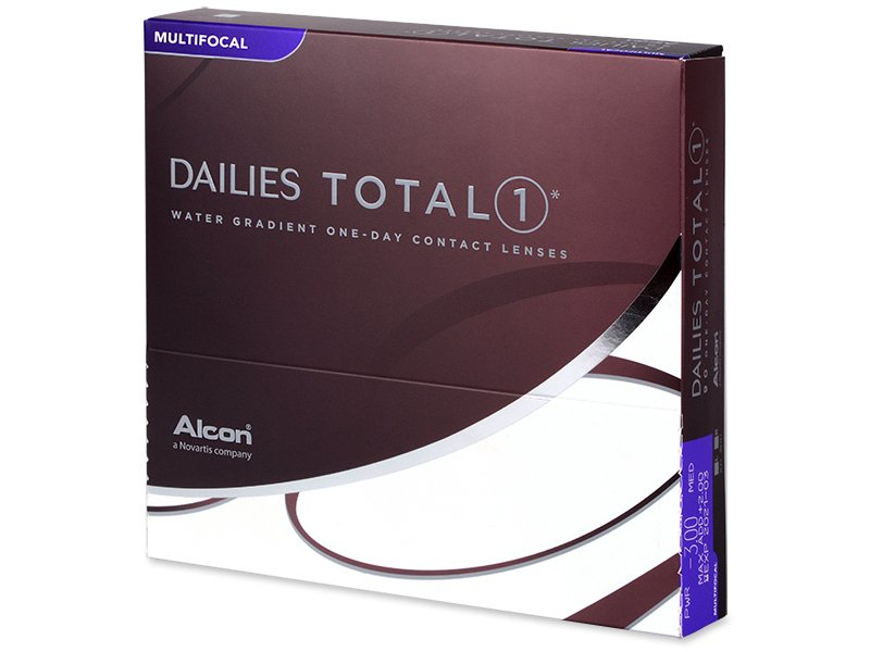 Dailies TOTAL1 Multifocal (90 lentillas) - Diseño antiguo