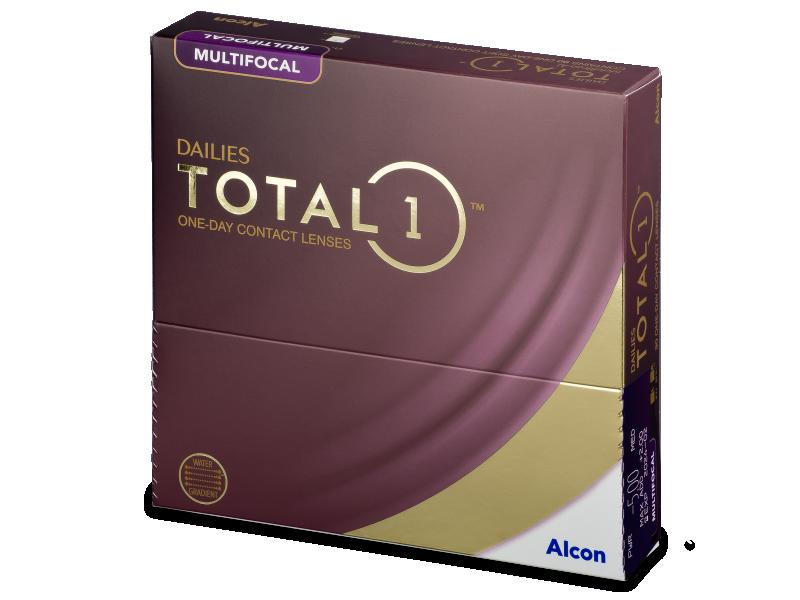 Dailies TOTAL1 Multifocal (90 lentillas) - Lentes de contacto multifocales