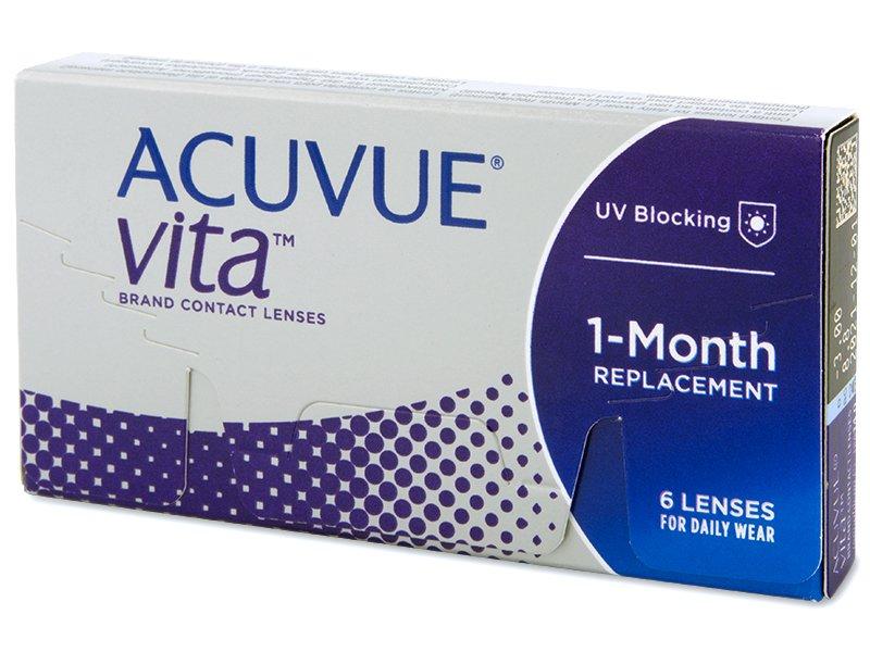Acuvue Vita (6 lentillas) - Lentes de contacto mensuales