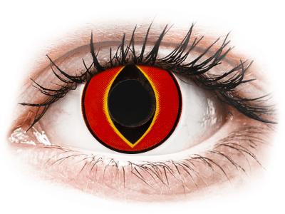 ColourVUE Crazy Lens - Mad Frog - Sin graduar (2 lentillas)