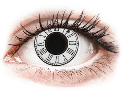 CRAZY LENS - Clock - Diarias sin graduación (2 Lentillas)