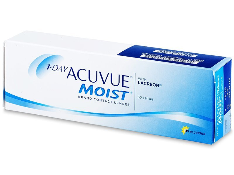 Lentillas diarias desechables - 1 Day Acuvue Moist (30 lentillas)