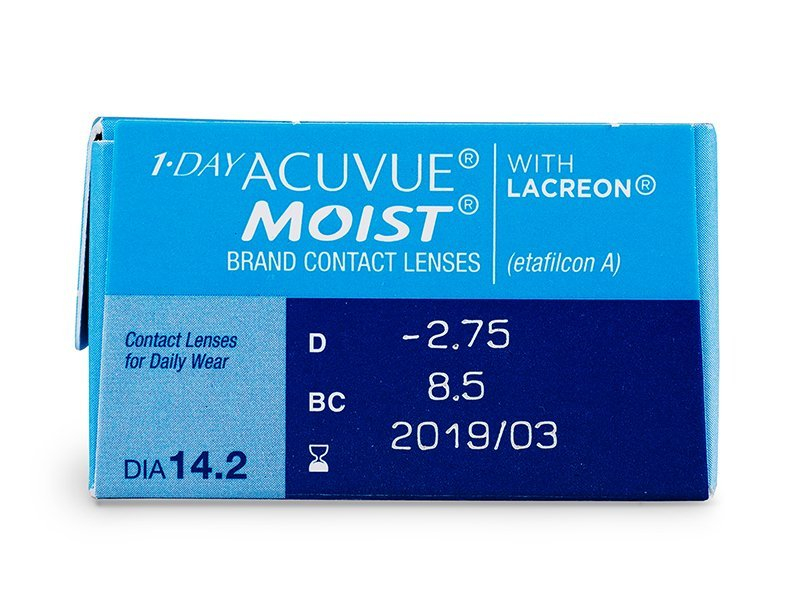 1 Day Acuvue Moist (30 lentillas) - Previsualización de atributos