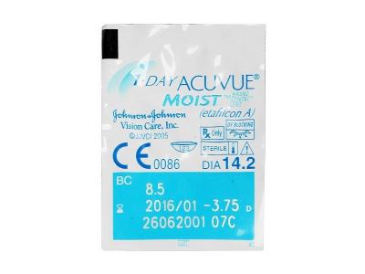 1 Day Acuvue Moist (30lentillas) - Previsualización del blister
