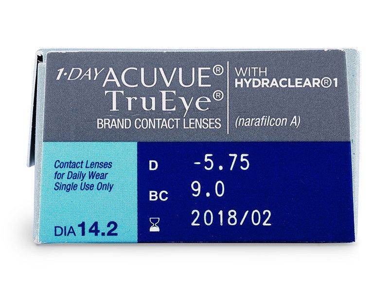 Previsualización de atributos - 1 Day Acuvue TruEye (30lentillas)