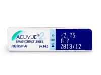 Acuvue 2 (6lentillas) - Previsualización de atributos