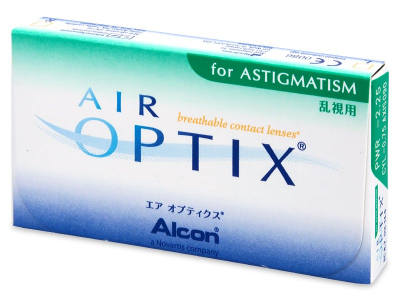 Diseño antiguo - Air Optix for Astigmatism (3lentillas)