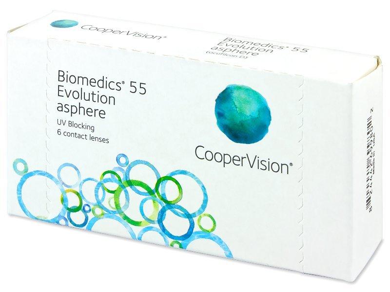 c7be57d902 Biomedics 55 Evolution (6 lentillas) - Lentes de contacto mensuales