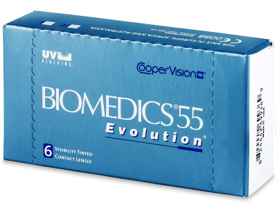 Biomedics 55 Evolution (6lentillas) - Diseño antiguo