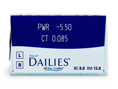 Focus Dailies All Day Comfort (30lentillas) - Previsualización de atributos