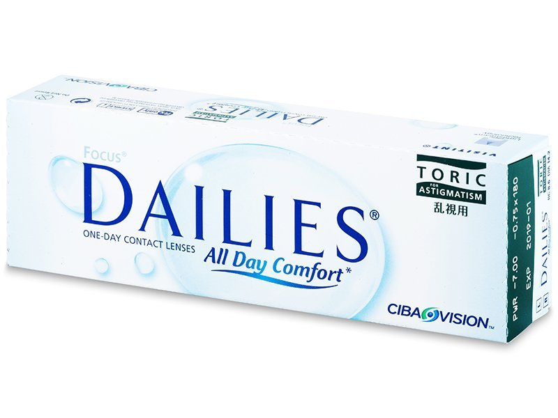 Focus Dailies Toric (30lentillas) - Lentillas tóricas