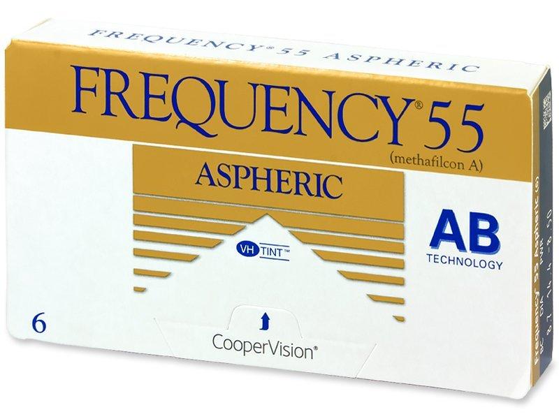 Frequency 55 Aspheric (6lentillas) - Lentes de contacto mensuales