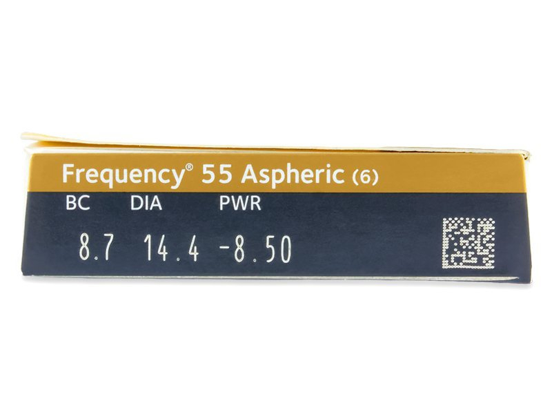 Frequency 55 Aspheric (6 lentillas) - Previsualización de atributos