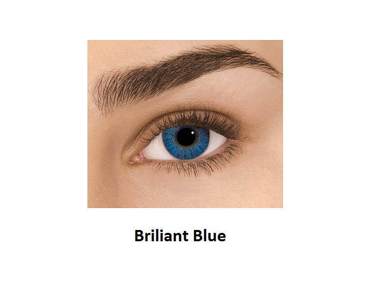 FreshLook ColorBlends Graduadas (2 lentillas) - Briliant Blue
