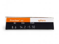 Proclear Sphere (6lentillas) - Previsualización de atributos