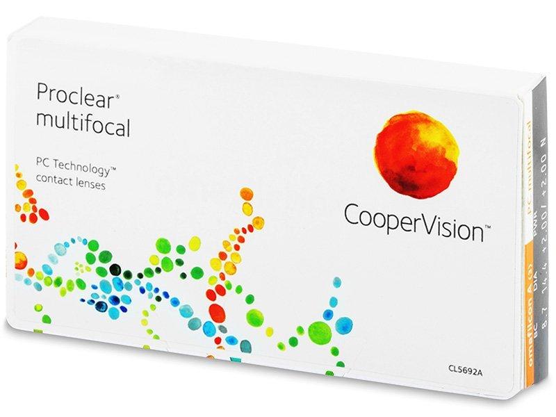 Proclear Multifocal (3lentillas) - Lentes de contacto multifocales