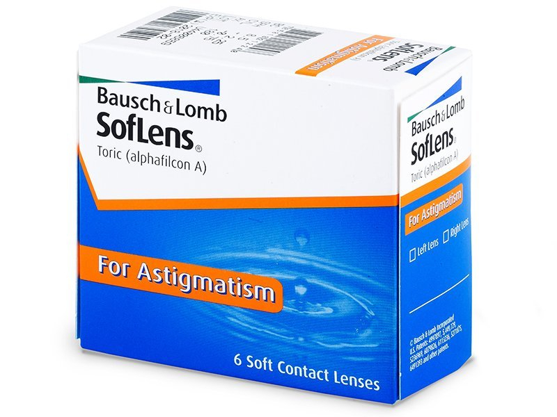 SofLens Toric (6lentillas) - Lentillas tóricas