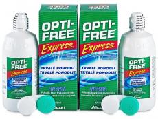 Líquido OPTI-FREE Express 2 x 355 ml  - Diseño antiguo