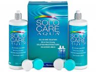 Pack ahorro de solución de lentillas - Líquido SoloCare Aqua 2 x 360ml