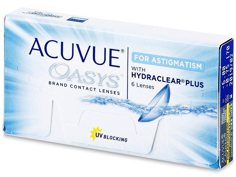 Acuvue Oasys for Astigmatism (6lentillas) - Lentillas tóricas