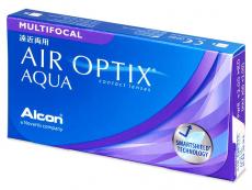 Air Optix Aqua Multifocal (3lentillas)