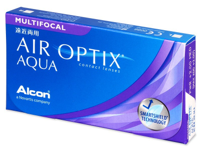 Air Optix Aqua Multifocal (6 lentillas) - Lentes de contacto multifocales