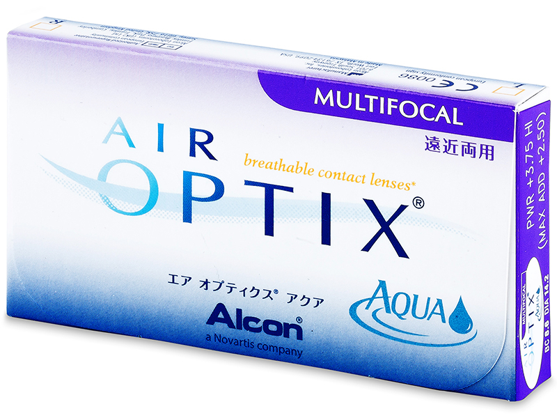 Air Optix Aqua Multifocal (6 lentillas) - Diseño antiguo